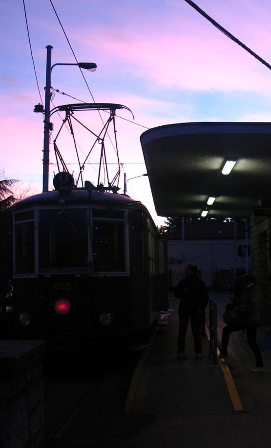 villa opicina tramvayı