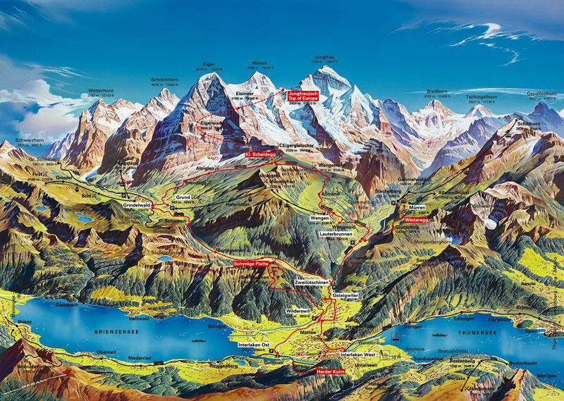 Heidi Ülkesinin Yollarında -4- Alpin Turizm
